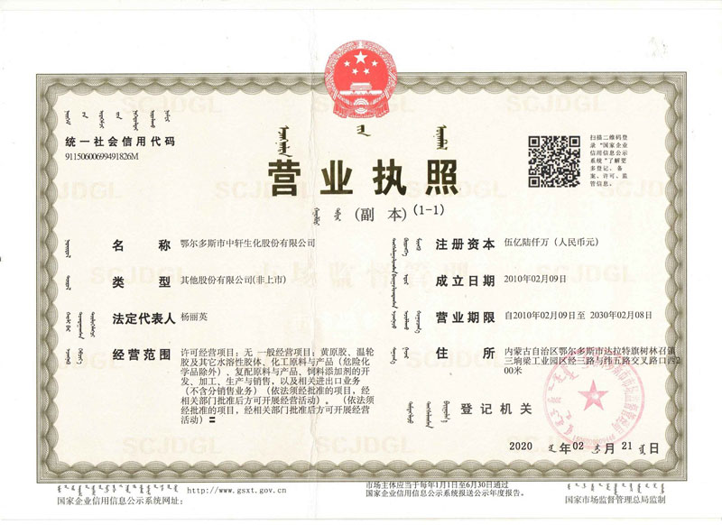 Deosens Business License
